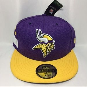 New Era Minnesota Vikings 5950 Fitted Hat